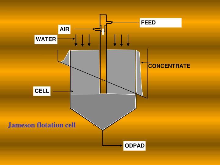 Jameson flotation cell