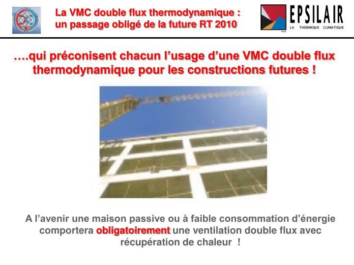 Ppt la vmc double flux thermodynamique powerpoint presentation id 3410310 - Prix d une vmc double flux thermodynamique ...