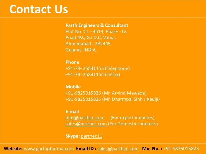 Parth Engineers & Consultant