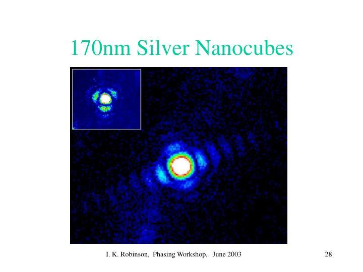 170nm Silver Nanocubes