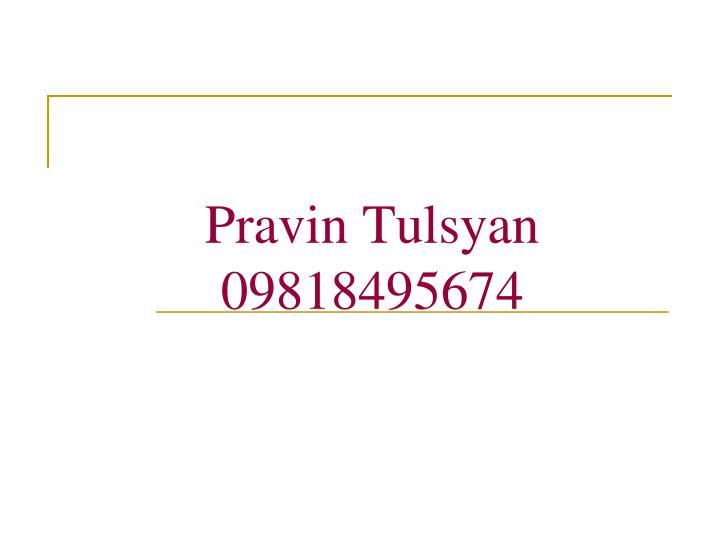 Pravin Tulsyan