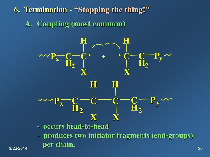 6.  Termination -