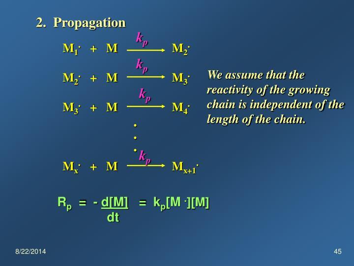 2.  Propagation