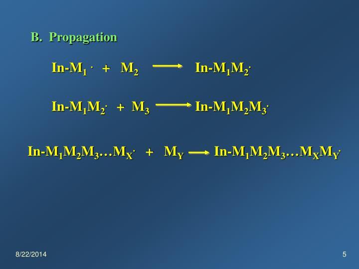 B.  Propagation