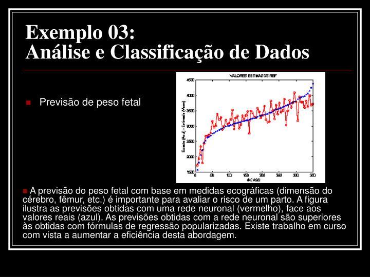 Exemplo 03: