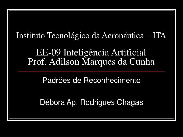 Instituto Tecnológico da Aeronáutica – ITA