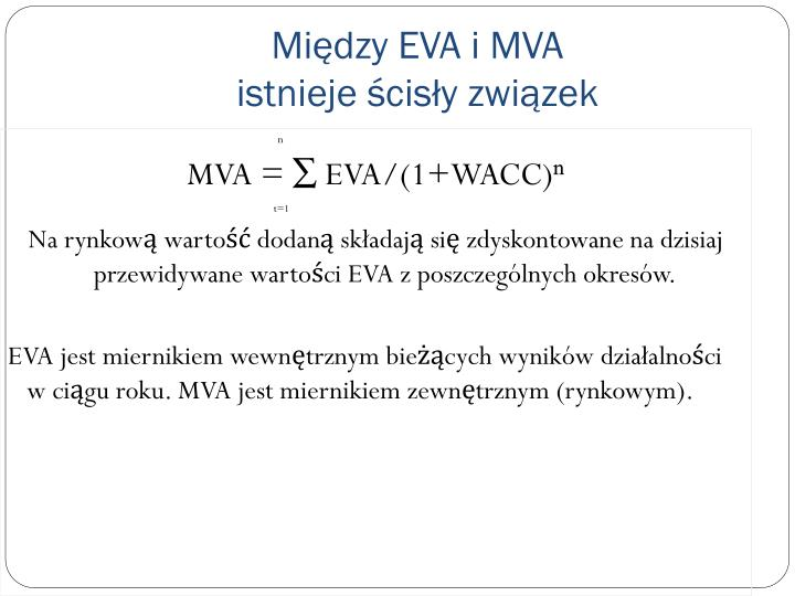 Między EVA i MVA
