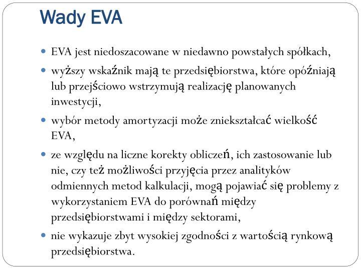 Wady EVA