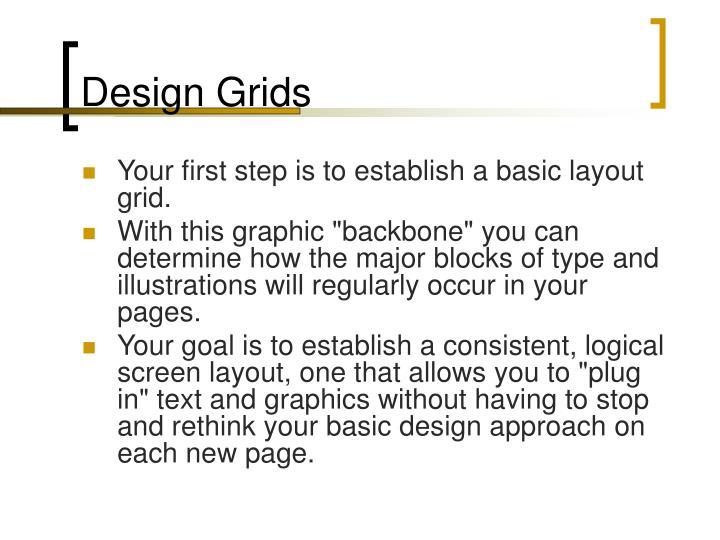 Design Grids