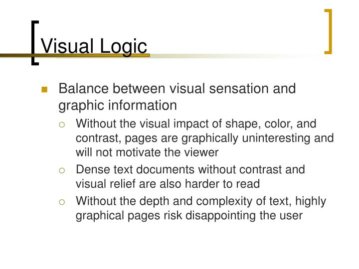 Visual Logic
