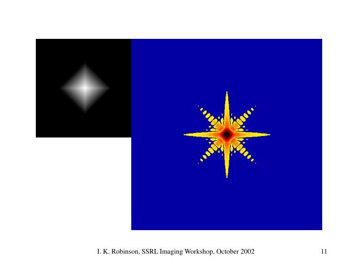 I. K. Robinson, SSRL Imaging Workshop, October 2002