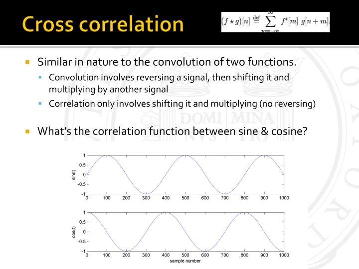 Similar in nature to the convolution of two functions.