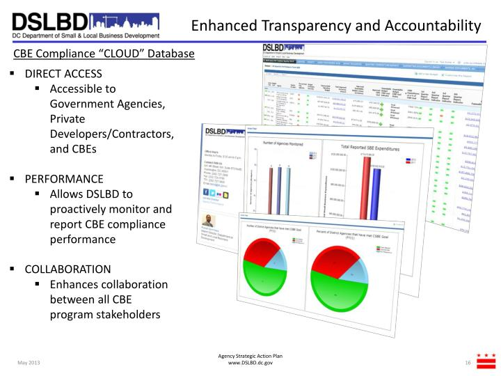 Enhanced Transparency and Accountability