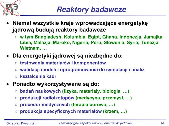 Reaktory badawcze