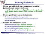 reaktory badawcze1