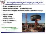 zaanga owanie polskiego przemys u