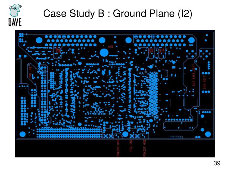 Case Study B : Ground Plane (I2)