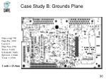 case study b grounds plane