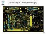 case study b power plane i5
