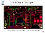 case study b top layer1