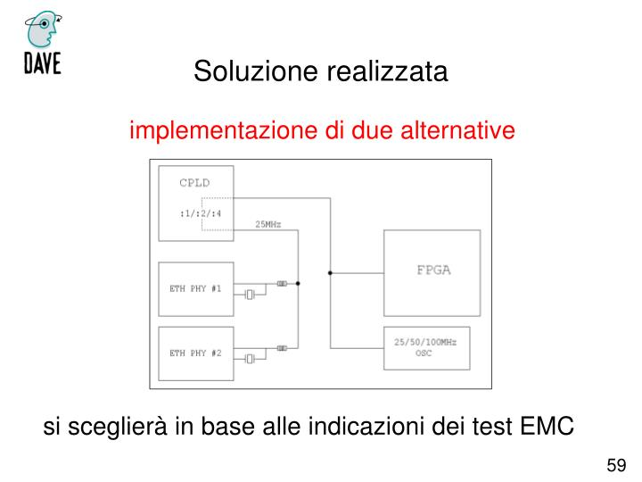 implementazione di due alternative
