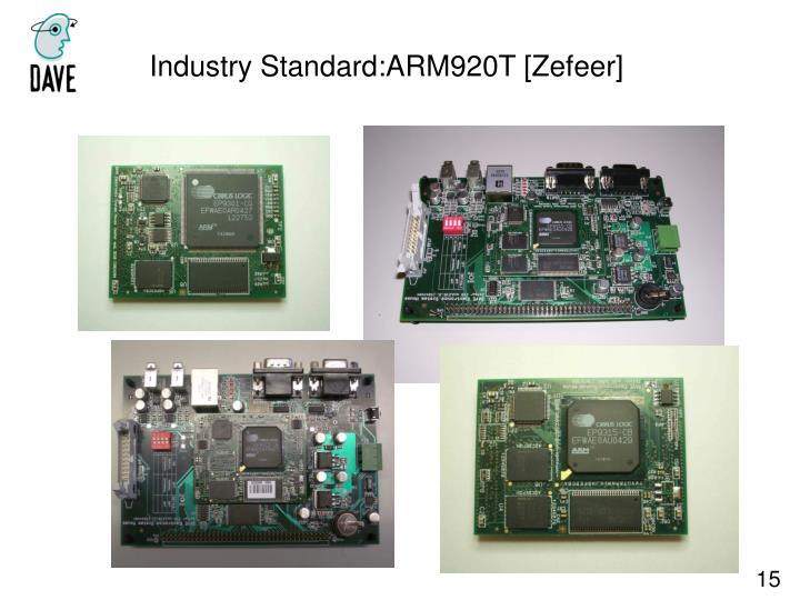 Industry Standard:ARM920T [Zefeer]