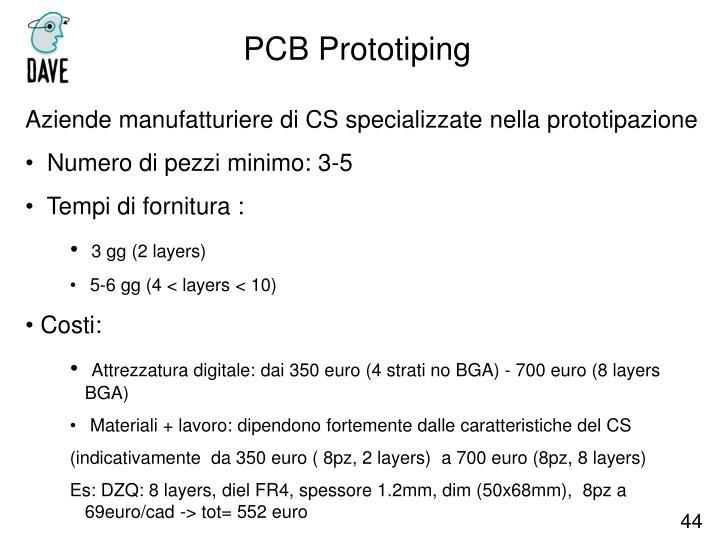 PCB Prototiping