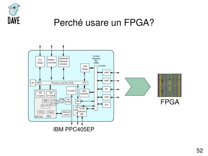Perché usare un FPGA?