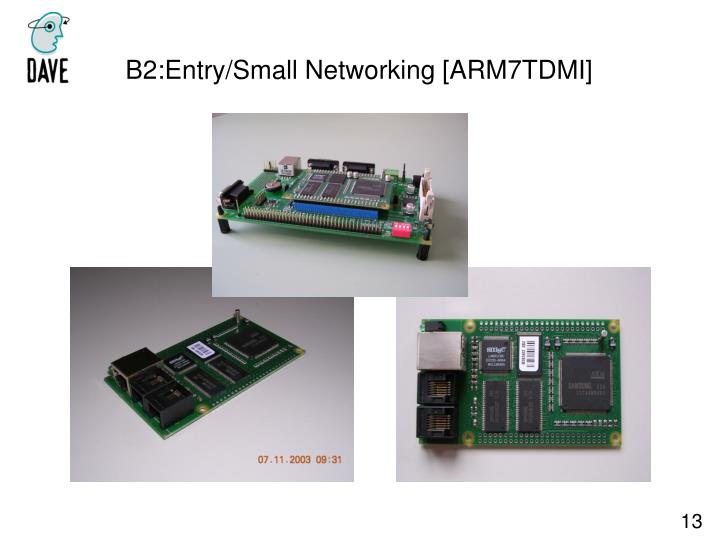 B2:Entry/Small Networking [ARM7TDMI]