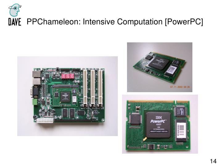 PPChameleon: Intensive Computation [PowerPC]