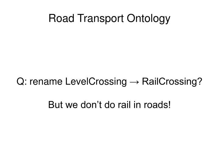 Rail domain