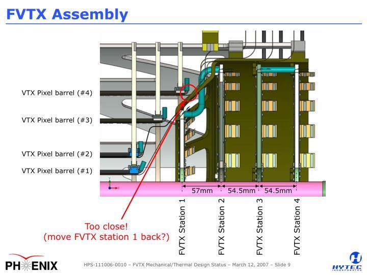 FVTX Assembly