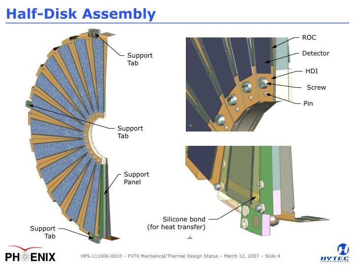 Half-Disk Assembly