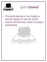god is eternal7