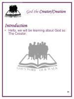 god the creator creation1