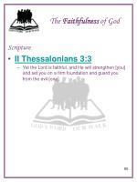 the faithfulness of god6