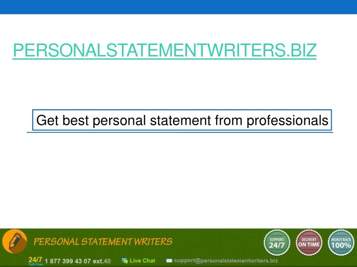 Best Personal Statement Writers Site