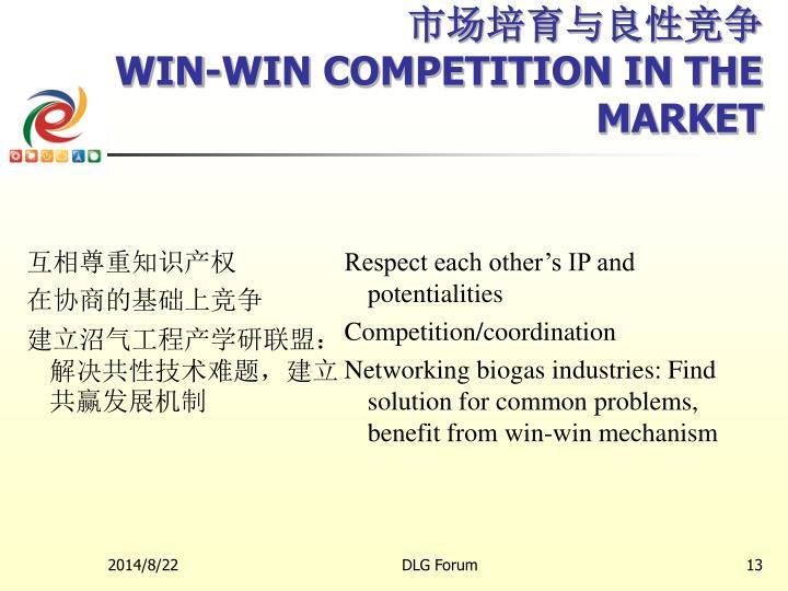 市场培育与良性竞争