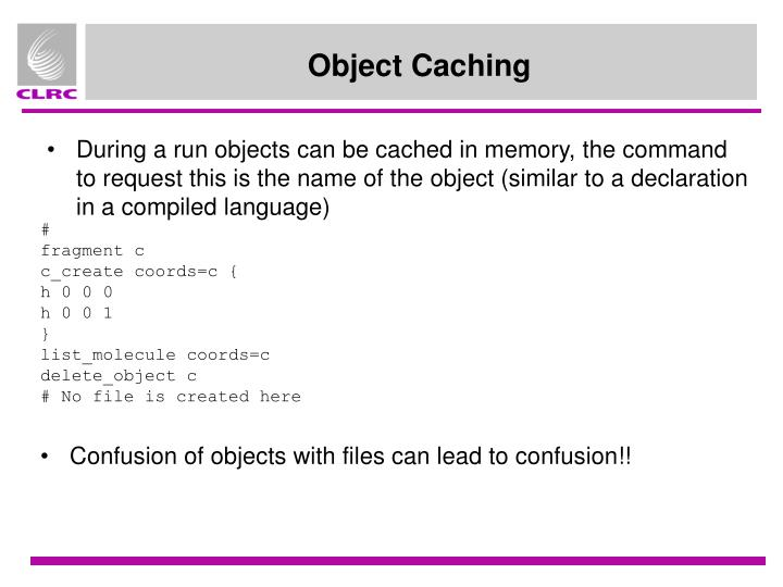 Object Caching