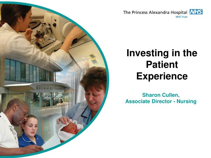Investing in the Patient
