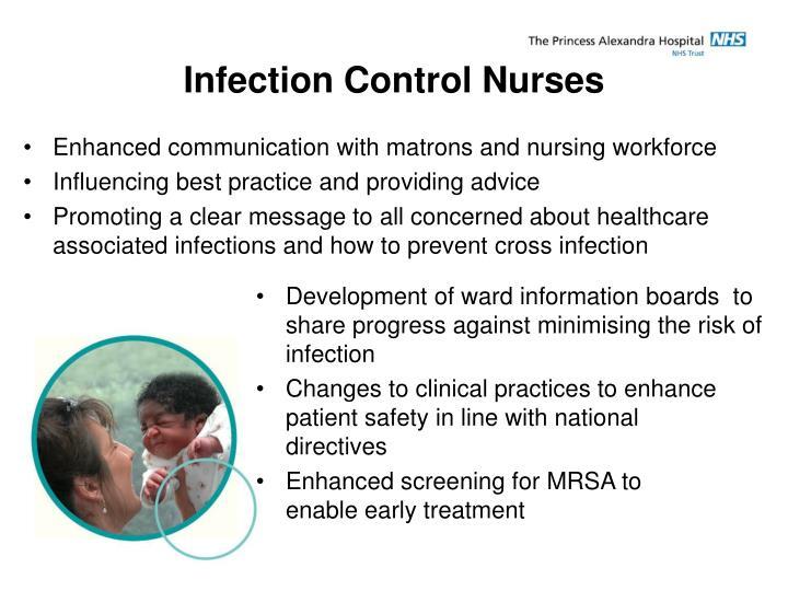 Infection Control Nurses