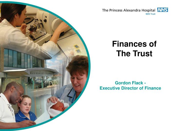 Finances of The Trust