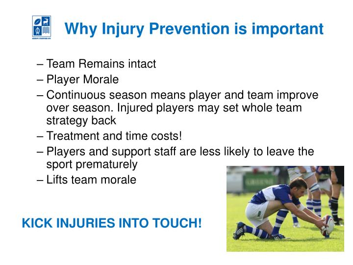 Why Injury Prevention is important