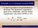 example 22 2 constant growth ddm