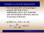 example 22 4 growth opportunities