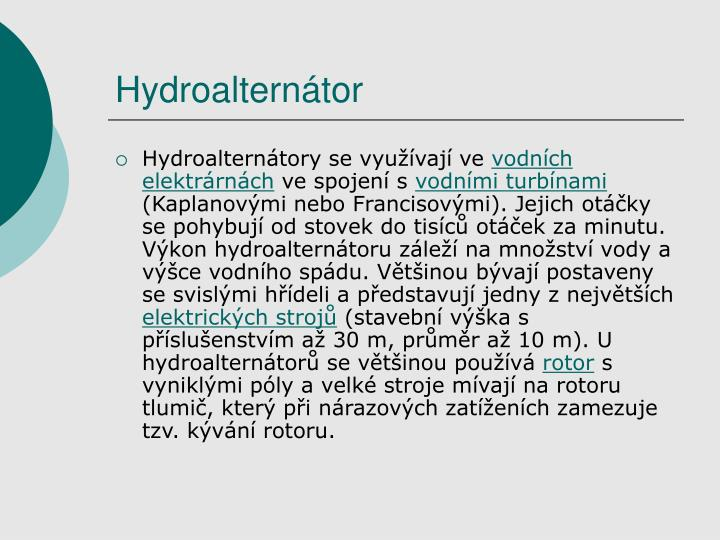 Hydroalterntor