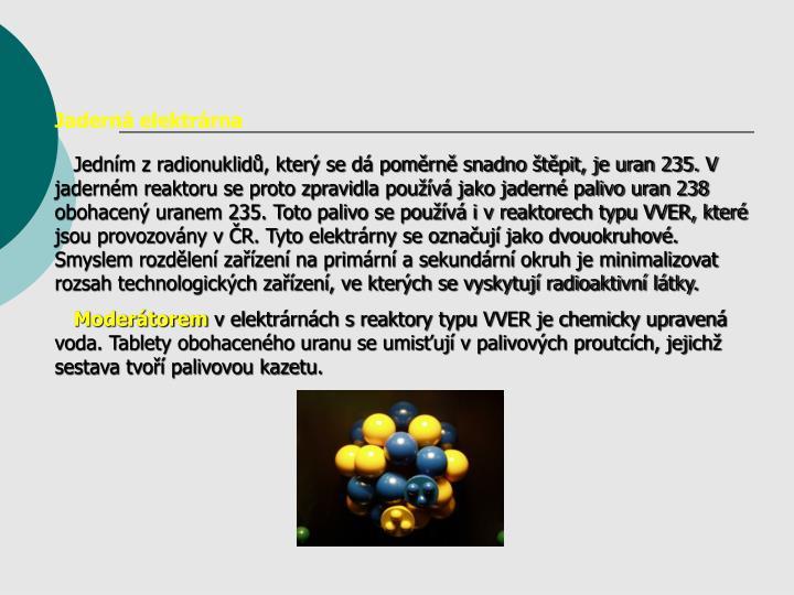 Jadern elektrrna