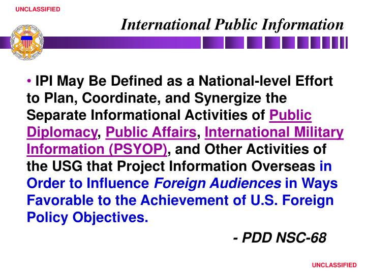 International Public Information