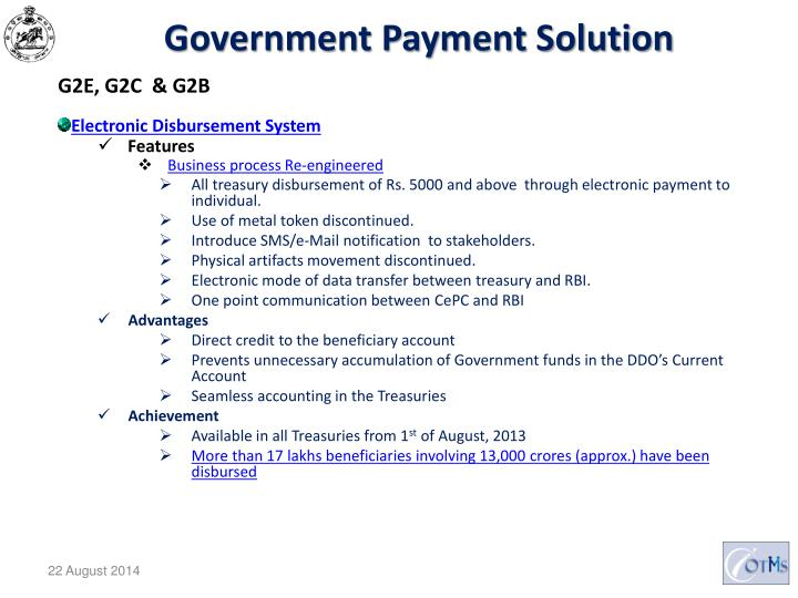 Government Payment Solution