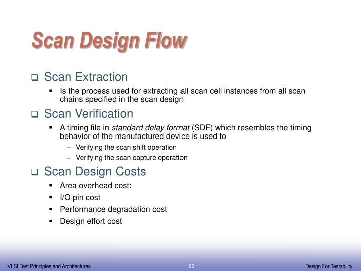 Scan Design Flow